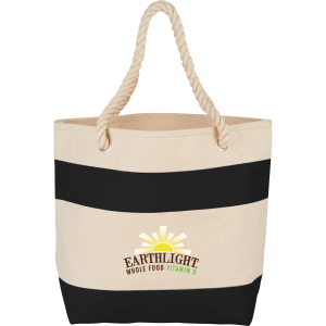 Rope Handle 16 oz Cotton Canvas Tote