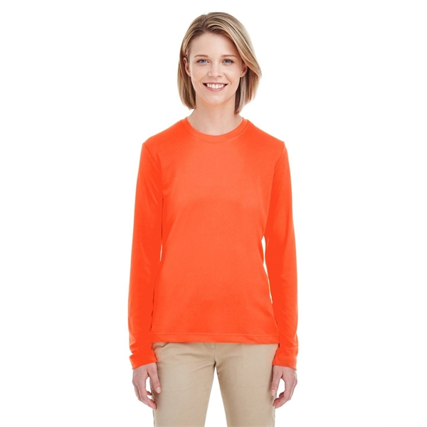 a6325bdea15 ... Long-Sleeve Top UltraClub® Ladies  Cool   Dry Performance ...
